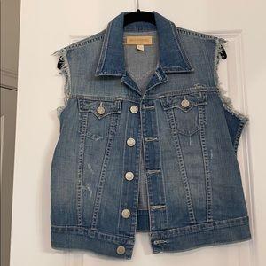 True Religion Cut Off Jean Vest
